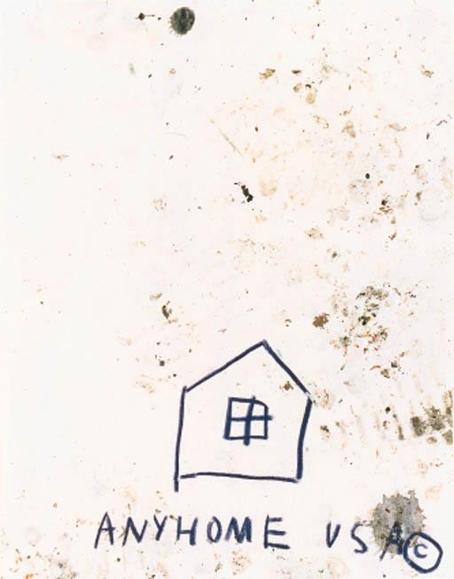 Jean-Michel Basquiat-Untitled (Anyhome USA)-1982