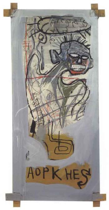 Jean-Michel Basquiat-Untitled (Aopkhes 2)-1982