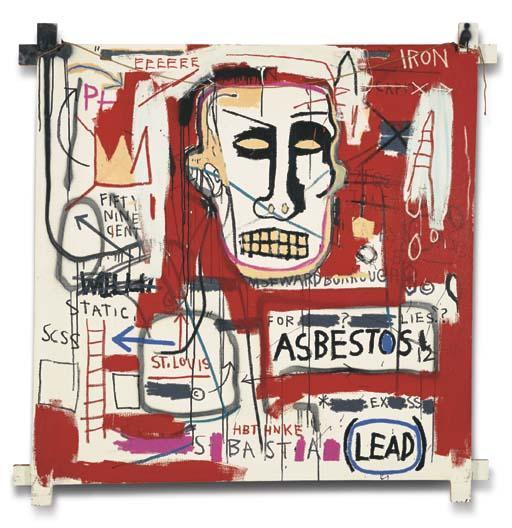 Jean-Michel Basquiat-Untitled (Asbestos Lead)-1982