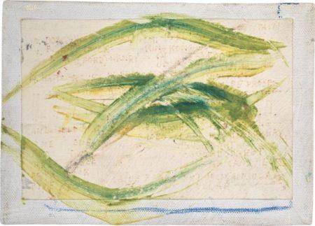 Jean-Michel Basquiat-Untitled (Big Green Eye)-1982