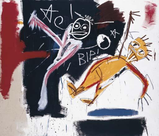 Jean-Michel Basquiat-Untitled (Bip)-1981