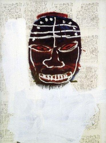 Jean-Michel Basquiat-Untitled (Black Devil)-1987