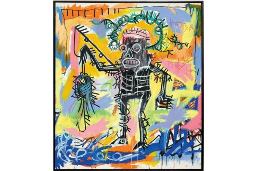Jean Michel Basquiat paintings often show his Black Kings