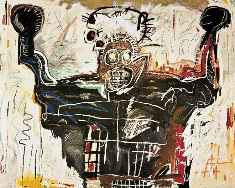 Jean-Michel Basquiat-Untitled (Boxer)-1982