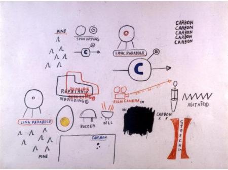 Jean-Michel Basquiat-Untitled (C, Carbon Carbon)-1985