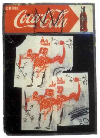 Jean-Michel Basquiat-Untitled (Coca Cola)-1982