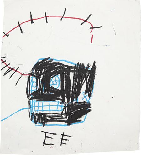 Jean-Michel Basquiat-Untitled (Crown of Thorns)-1982
