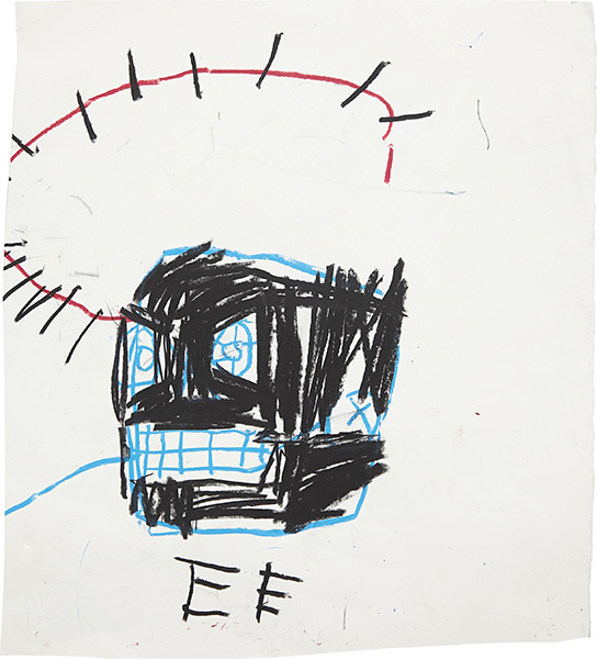 Jean-Michel Basquiat-Untitled (Crown of Thorns)-1982