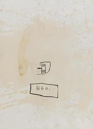 Jean-Michel Basquiat-Untitled (Ego)-1983
