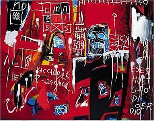 Jean-Michel Basquiat-Untitled (Enneisx)-1982