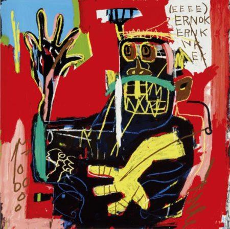 Jean-Michel Basquiat-Untitled (Ernok)-1983