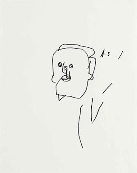 Jean-Michel Basquiat-Untitled (Faces)-1980