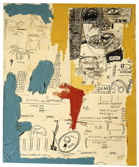 Jean-Michel Basquiat-Untitled (Four Rivers of Life)-1984