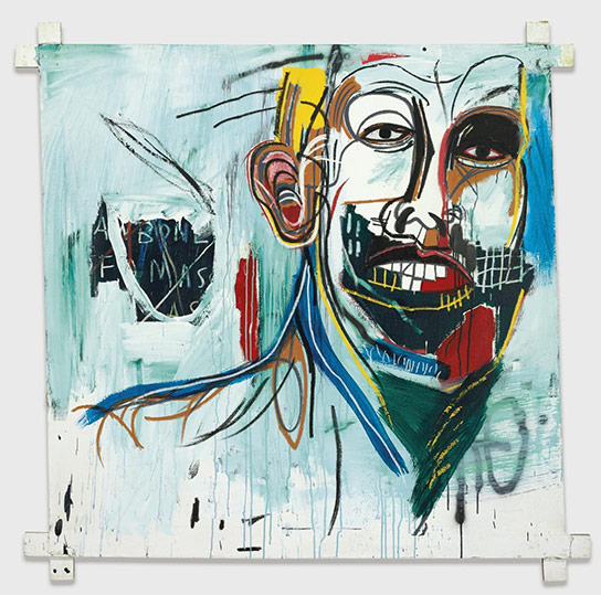 Jean-Michel Basquiat-Untitled (Green Beard)-1982