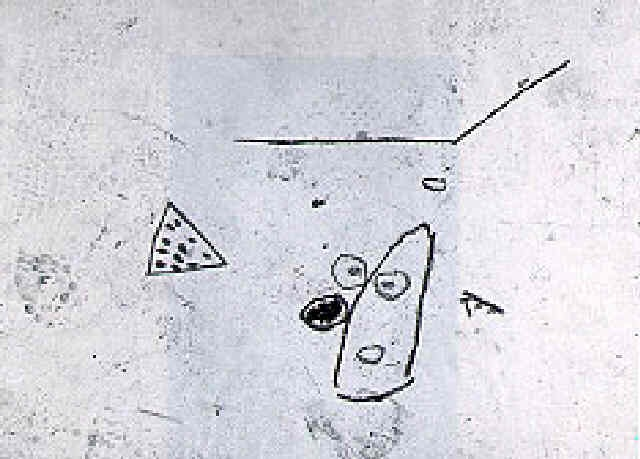 Jean-Michel Basquiat-Untitled (Head and Watermelon)-1987