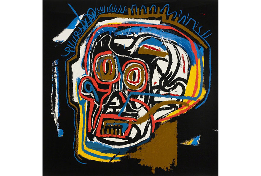 Jean-Michel Basquiat - Untitled (Head)