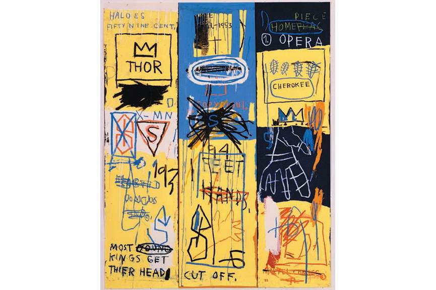 Jean-Michel Basquiat - Untitled II