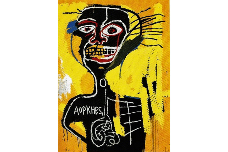 Jean-Michel Basquiat- Untitled II