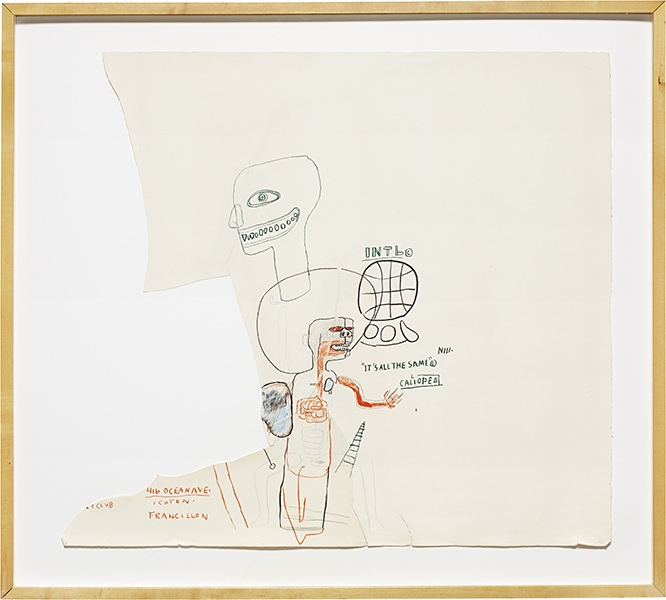 Jean-Michel Basquiat-Untitled (It's All The Same)-1984