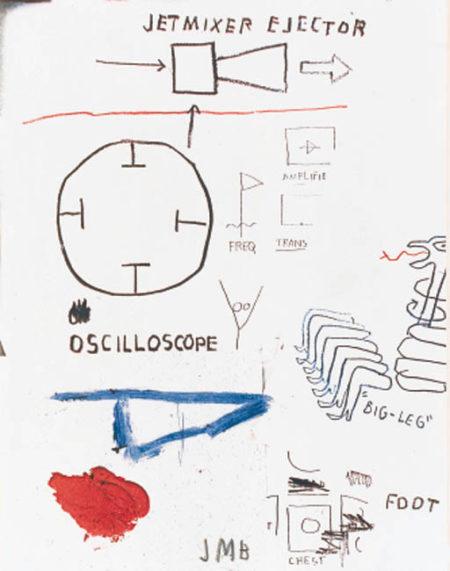 Jean-Michel Basquiat-Untitled (Jet Mixer Ejector)-