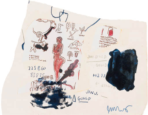 Jean-Michel Basquiat-Untitled (Jon Gould)-
