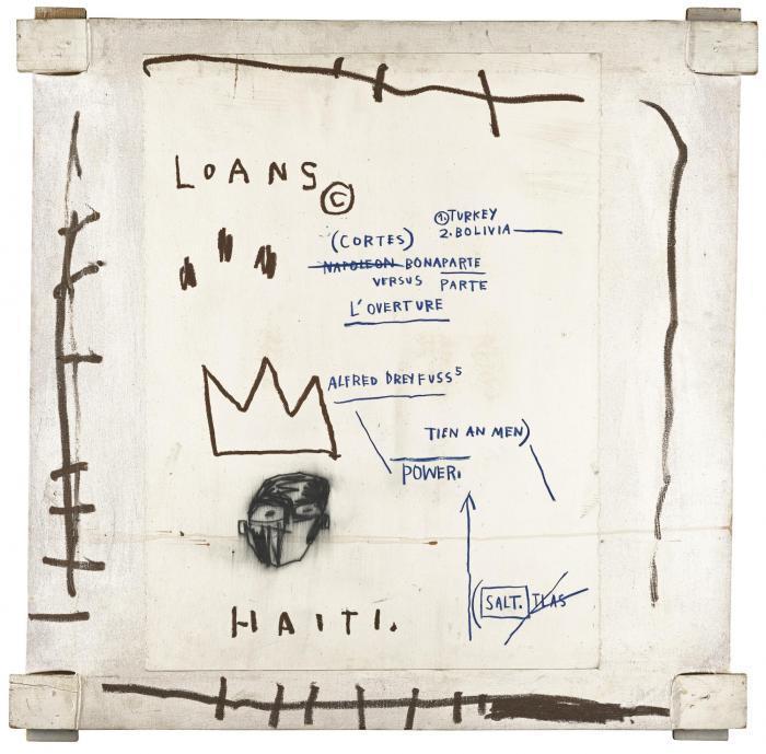 Jean-Michel Basquiat-Untitled (Loan, Haiti)-