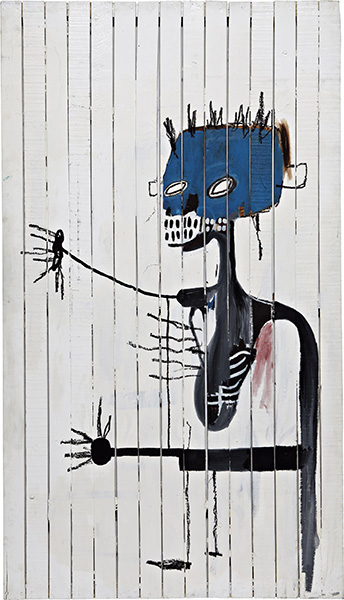 Jean-Michel Basquiat-Untitled (Lung)-1986