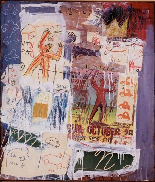 Jean-Michel Basquiat-Untitled (Milk Oil)-1981