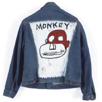 Jean-Michel Basquiat-Untitled (Monkey)-1986