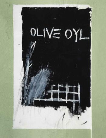 Jean-Michel Basquiat-Untitled (Olive Oyl)-1979