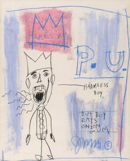 Jean-Michel Basquiat-Untitled (P.U.)-