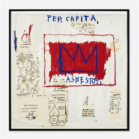 Jean-Michel Basquiat-Untitled (Per Capita)-