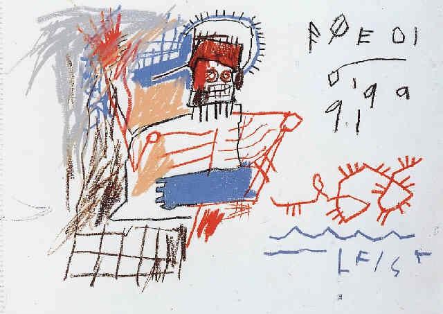 Jean-Michel Basquiat-Untitled, Poedi-1981