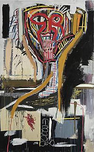 Jean-Michel Basquiat-Untitled (Prophet I)-1981