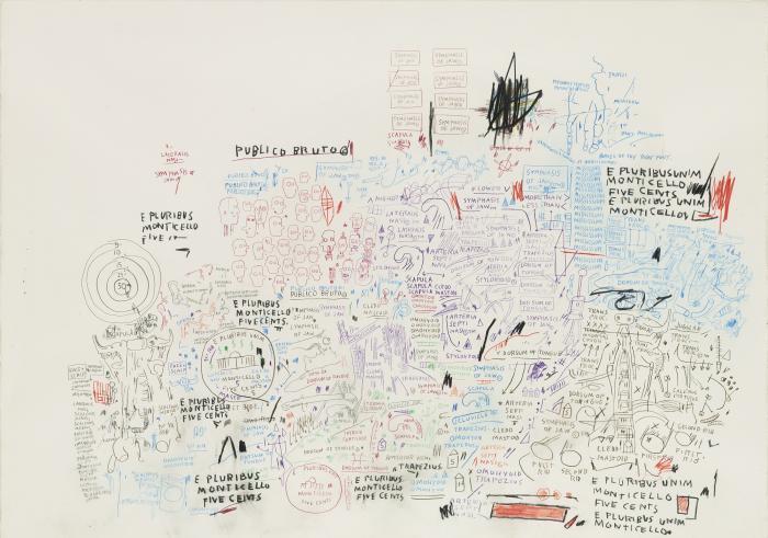 Jean-Michel Basquiat-Untitled (Publico Bruto)-1986