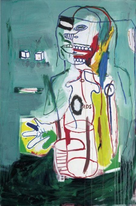 Jean-Michel Basquiat-Untitled (RDS)-1984