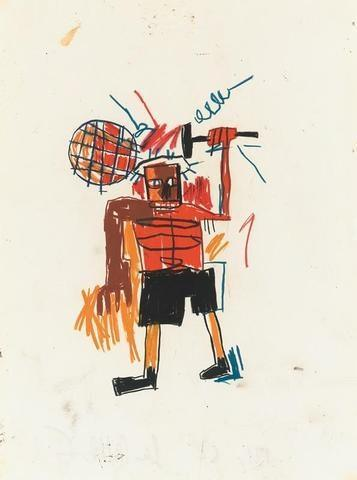 Jean-Michel Basquiat-Untitled (Rackett)-1982