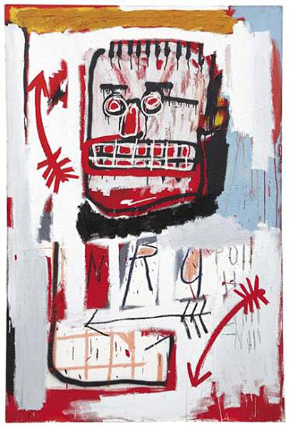 Jean-Michel Basquiat-Untitled (Red King) (NYC82)-1982