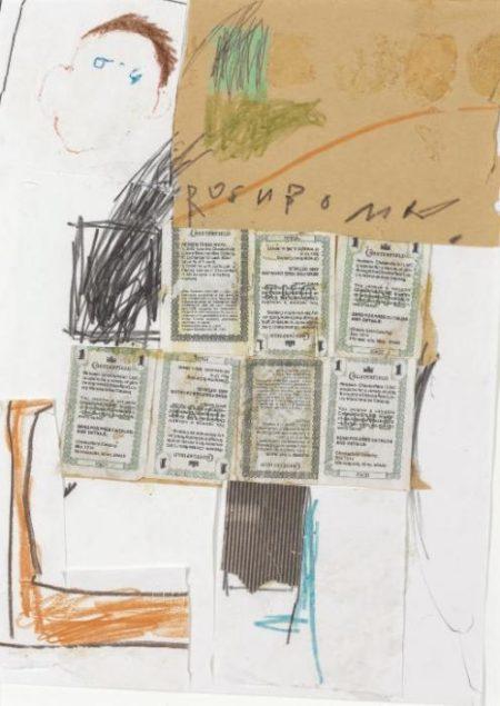 Jean-Michel Basquiat-Untitled (Rosnbomn)-1979