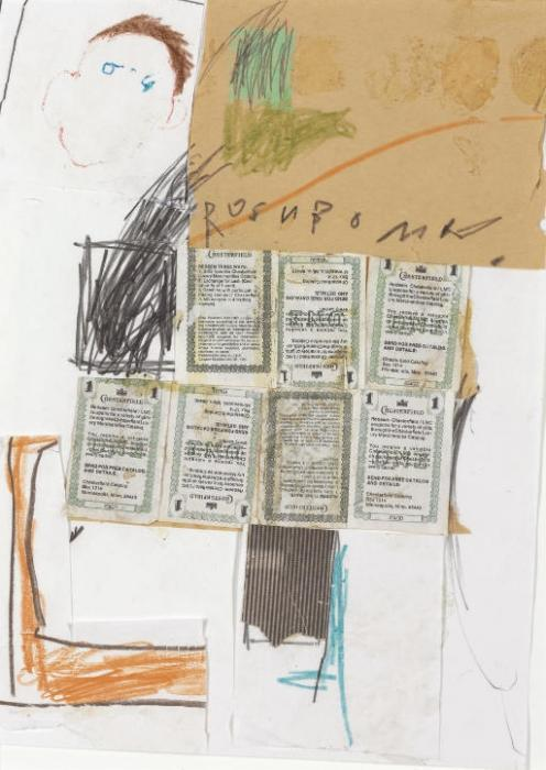 Jean-Michel Basquiat-Untitled (Rosnbomn)-1979