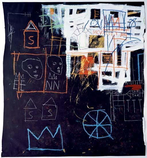 Jean-Michel Basquiat-Untitled (S EE NN)-1981