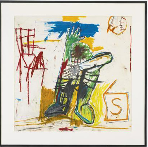 Jean-Michel Basquiat-Untitled (S in Right Corrner)-1981
