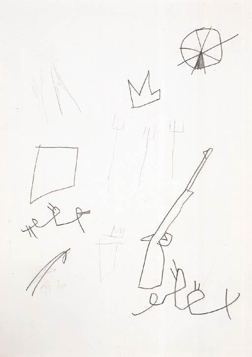 Jean-Michel Basquiat-Sans Titre (Samo)-1981