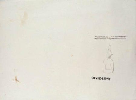 Jean-Michel Basquiat-Untitled (Silver Ebony)-1981