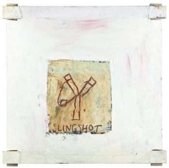 Jean-Michel Basquiat-Untitled (Slingshot)-1983