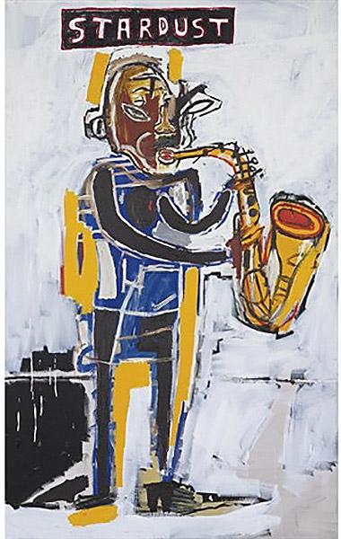Jean-Michel Basquiat-Untitled (Stardust)-1983