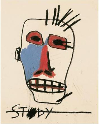 Jean-Michel Basquiat-Untitled (Stdy)-1981