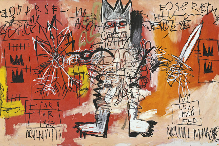 jean michel basquiat artwork 1983 1988 warhol home