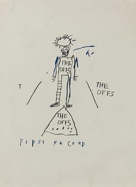 Jean-Michel Basquiat-Untitled (The Offs)-1981