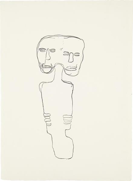 Jean-Michel Basquiat-Untitled (Two Heads)-1981
